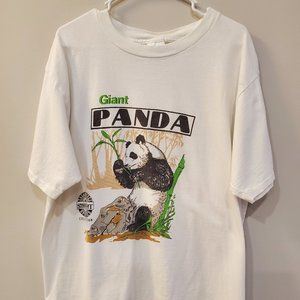 Giant Panda Endangered Species Collection Shirt XL